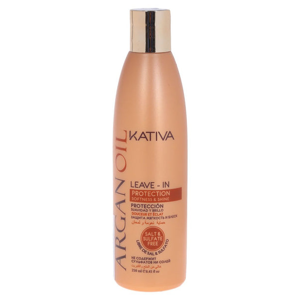 Kativa Argan Oil Leave-In Tratamiento Reparador Intensivo 250ml - The Shaving Mayoreo