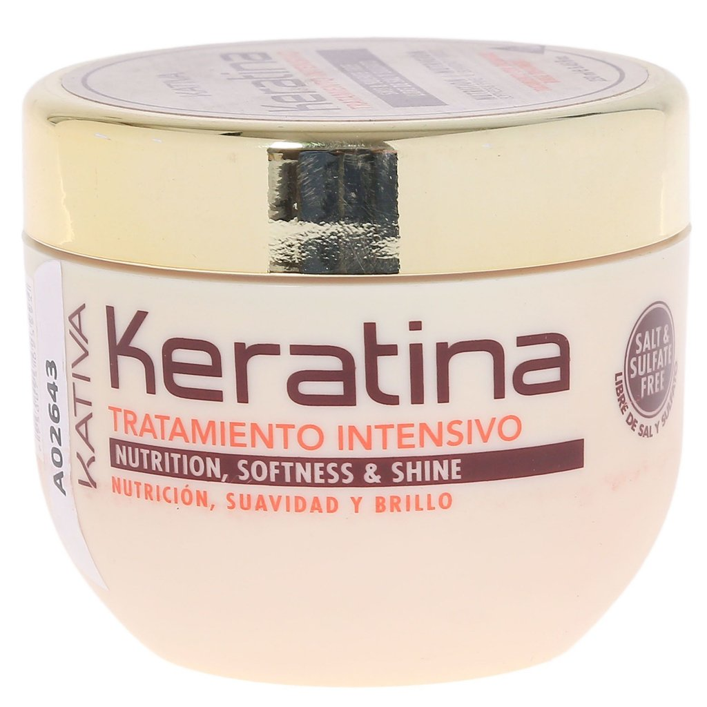 Kativa Keratina Tratamiento Reparador Intensivo 250ml - The Shaving Mayoreo