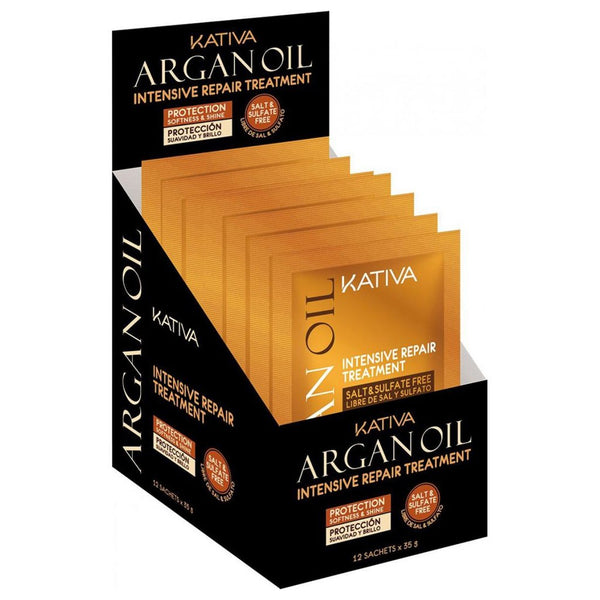 KATIVA ARGAN OIL TRAT REP INT 35 GR X 12 … - The Shaving Mayoreo