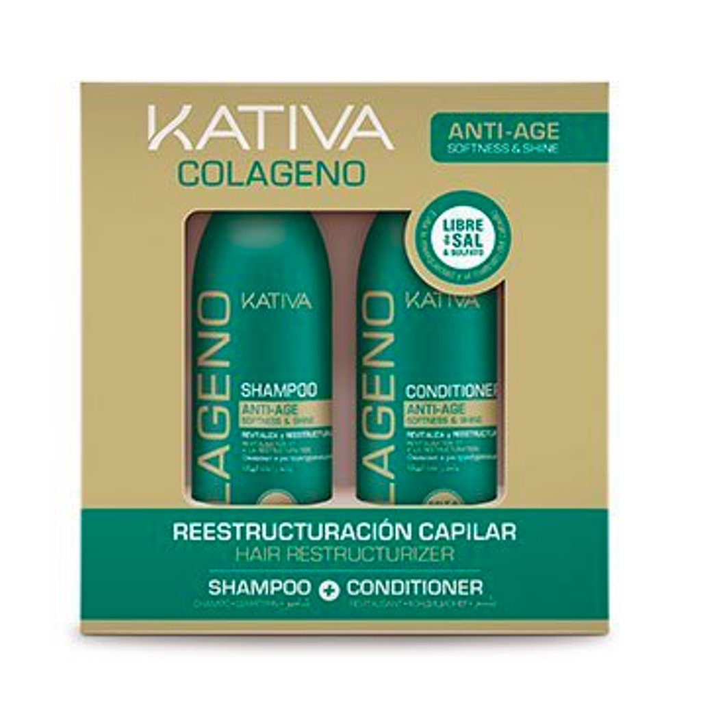 Kit Kativa Colageno 2x100ml - The Shaving Mayoreo