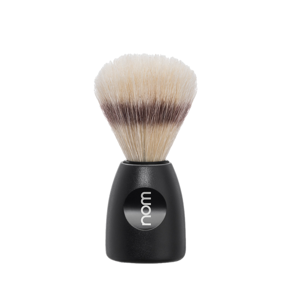 NOM Brocha de Afeitar Jabali 21mm Negra - The Shaving Mayoreo