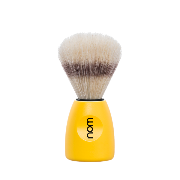 NOM Brocha de Afeitar Jabali 21mm Amarilla - The Shaving Mayoreo