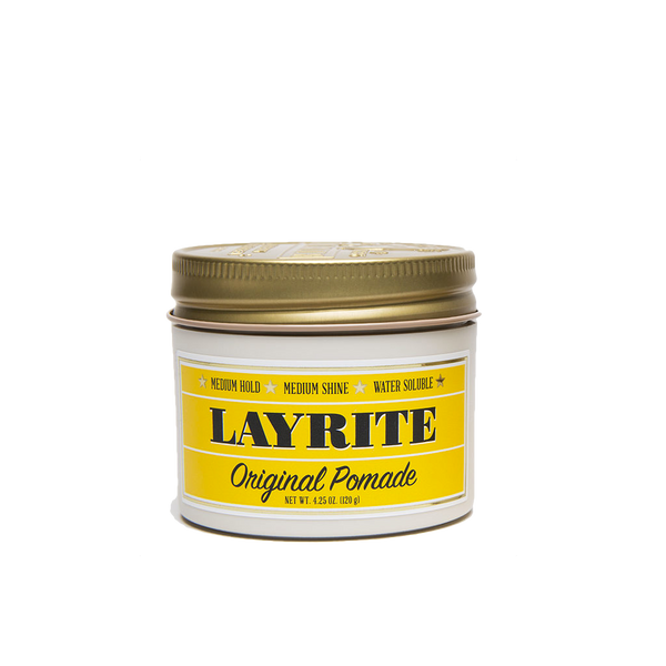 Layrite Pomada para Cabello Original Pomade 4oz - The Shaving Mayoreo