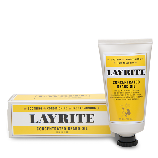 Layrite Aceite Para Barba Concentrado 50ml 2oz - The Shaving Mayoreo