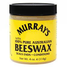 Murrays Pure Australian Beeswax Cera para Cabello 4oz - The Shaving Mayoreo