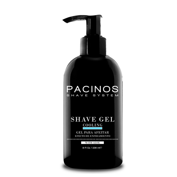 Pacinos Gel para Afeitar con Aloe Vera 8oz/236ml - The Shaving Mayoreo