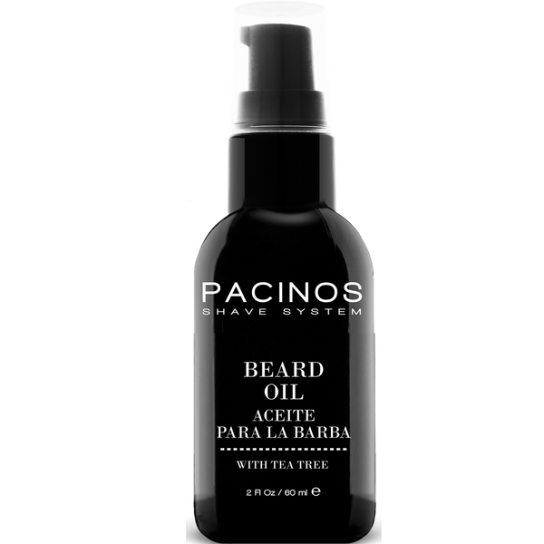 Pacinos Aceite para Barba 2oz/60ml - The Shaving Mayoreo