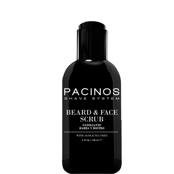 Pacinos Exfoliante para Barba y Rostro 4oz/118ml - The Shaving Mayoreo