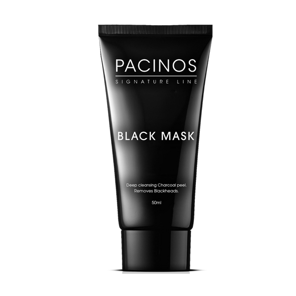 Pacinos Mascarilla Facial Limpieza Profunda con carbon activo 1.76oz/50ml - The Shaving Mayoreo