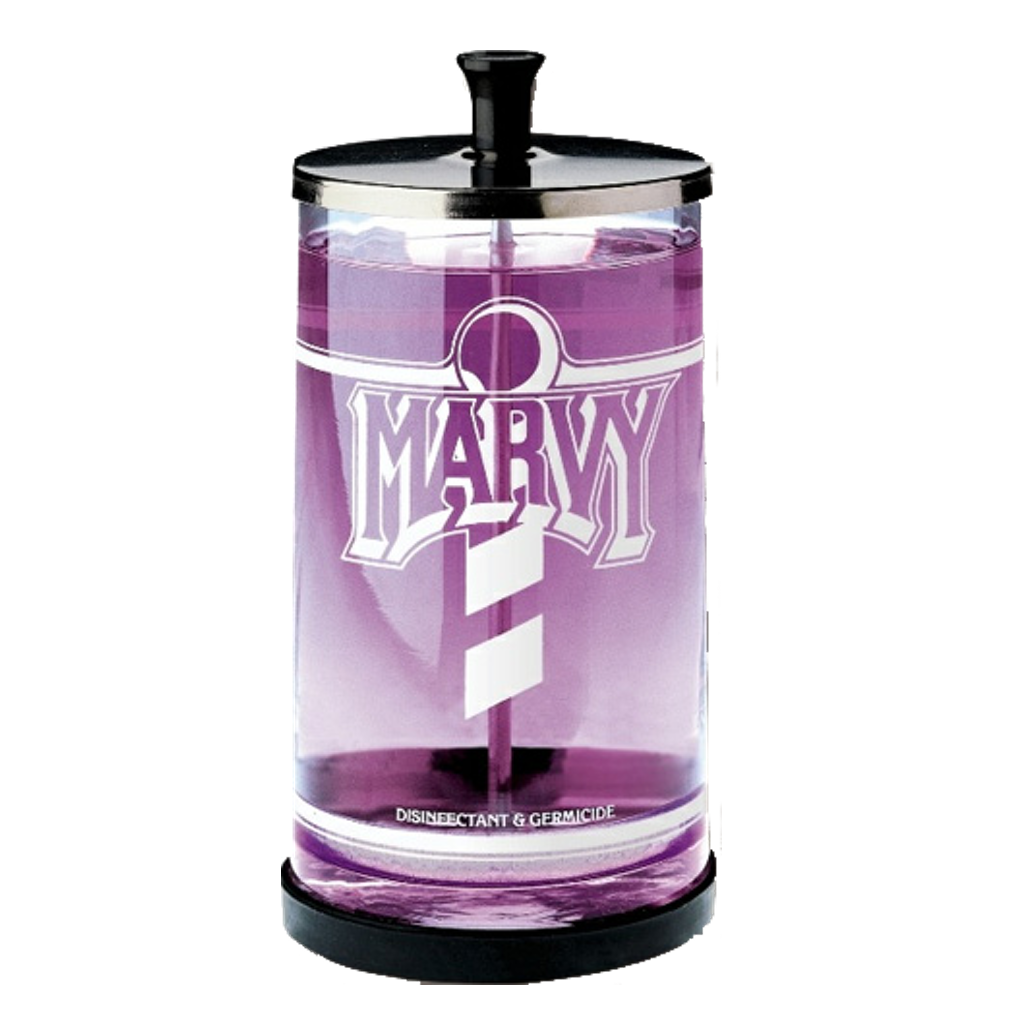 Marvy´s Tarro Desinfectante de Manicure 25oz - The Shaving Mayoreo