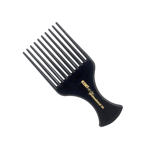 Kent Brushes Peine profesional Afro de 10 Puntas - The Shaving Mayoreo