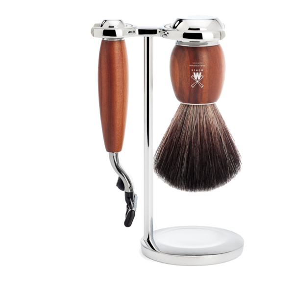 Mühle Set de Afeitado Madera de Ciruelo M3 - The Shaving Mayoreo