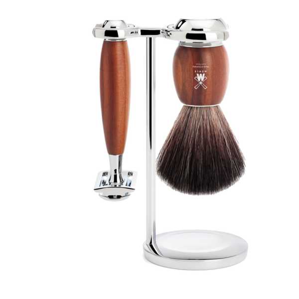 Mühle Set de Afeitado Madera de Ciruelo SR - The Shaving Mayoreo