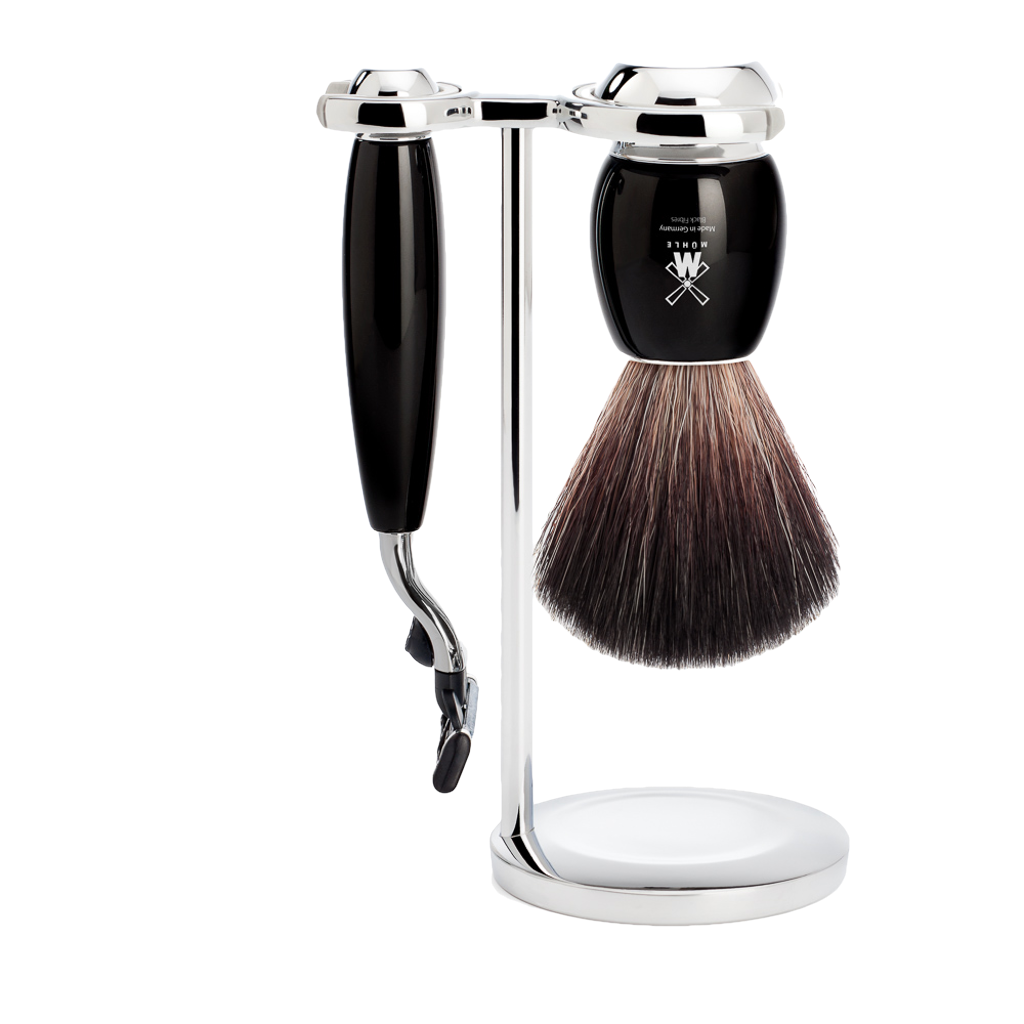 Mühle Set de Afeitado Negro M3 - The Shaving Mayoreo