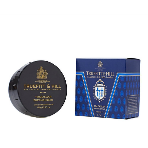 Truefitt and Hill Crema de Afeitar Trafalgar 190gr - The Shaving Mayoreo