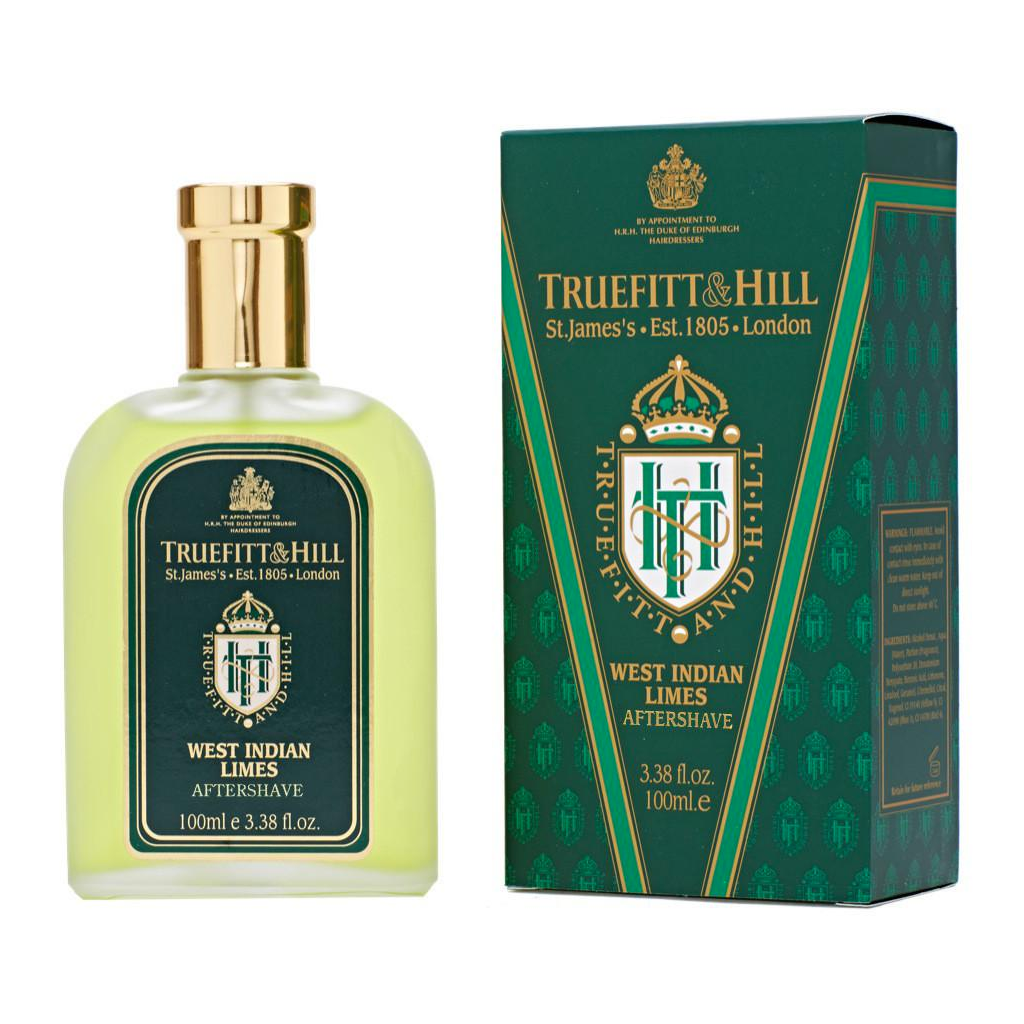 Truefitt and Hill Colonia para Despues de Afeitar West Indian Limes 100ml - The Shaving Mayoreo