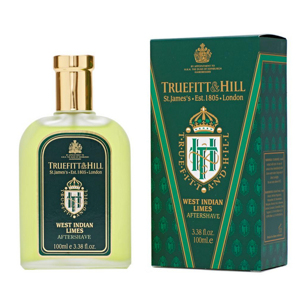Truefitt and Hill Colonia para Despues de Afeitar West Indian Limes 100ml - VGM Wholesale
