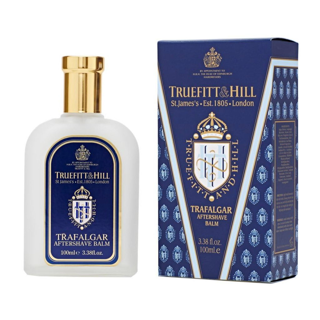 Truefitt and Hill Bálsamo Para Después de Afeitar Trafalgar 100ml - The Shaving Mayoreo