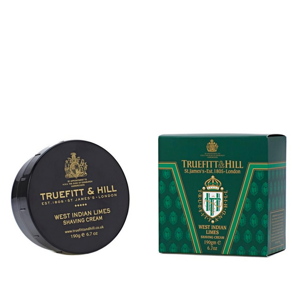 Truefitt and Hill Crema de Afeitar West Indian Limes 190gr - The Shaving Mayoreo
