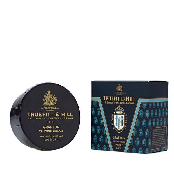 Truefitt and Hill Crema de Afeitar Grafton 190gr - The Shaving Mayoreo