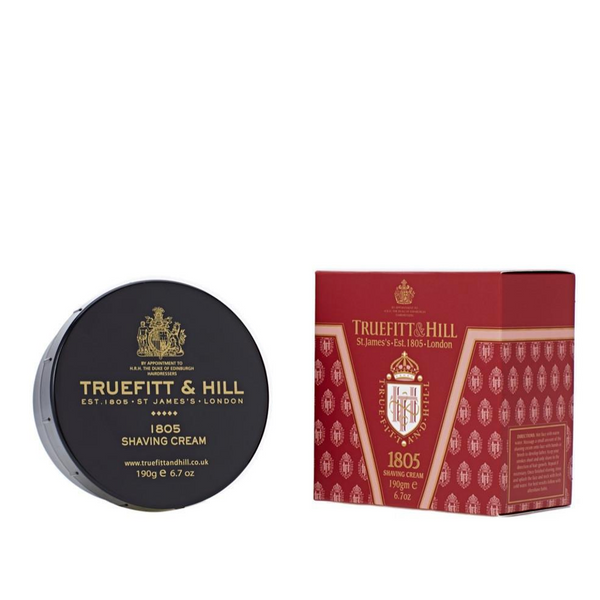 Truefitt and Hill Crema de Afeitar 1805 190gr - The Shaving Mayoreo