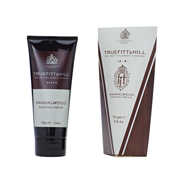 Truefitt and Hill Crema de Afeitar Sandalo 75ml - The Shaving Mayoreo