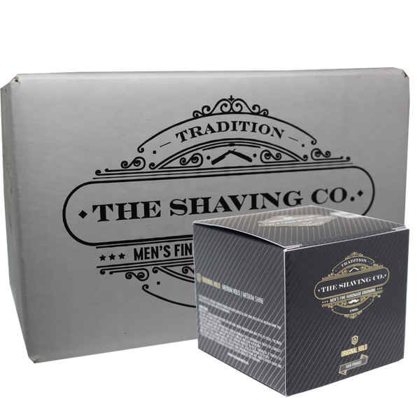 The Shaving Co. Pomada de Cabello Original  4oz/113.4gr-CAJA 12+1 GRATIS - The Shaving Mayoreo