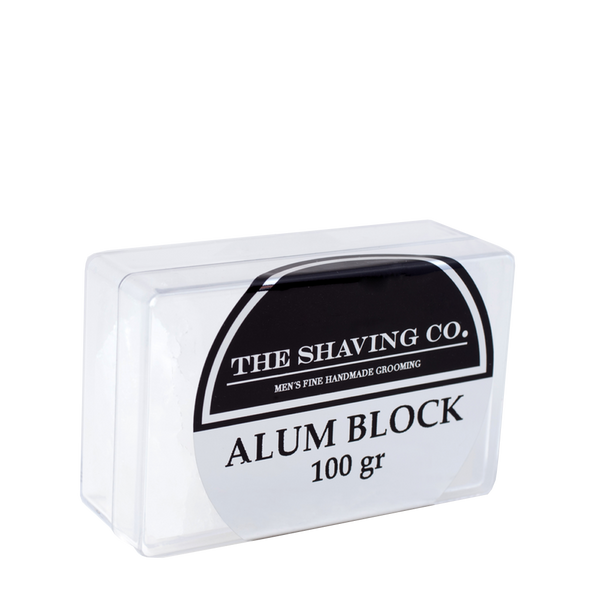 The Shaving Co. Barra de Alumbre 100gr - The Shaving Mayoreo
