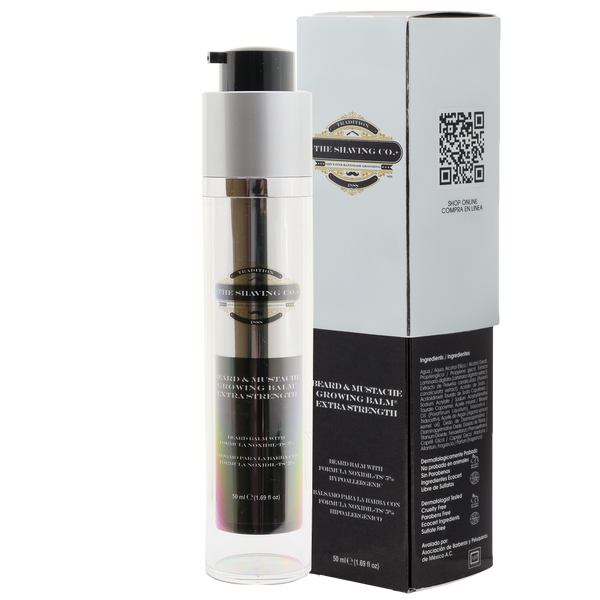 The Shaving Co.Balsamo de Crecimiento Noxidil-TS® 50ml - The Shaving Mayoreo