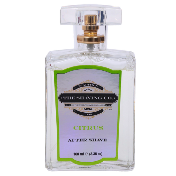 The Shaving Co. After Shave Lotion Citrus 100ml - The Shaving Mayoreo