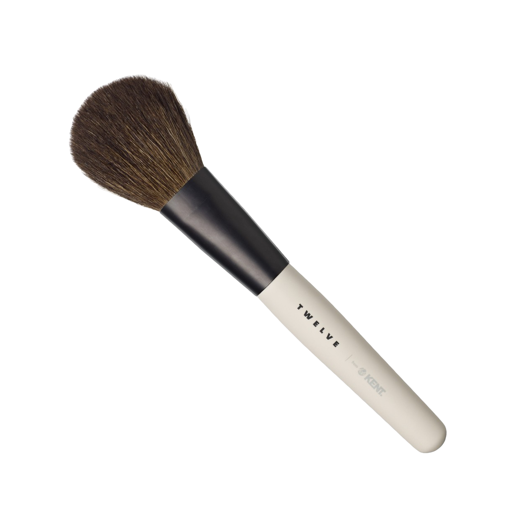 Kent Brushes Brocha de Maquillaje Profesional de para Polvo (fibra Natural) - The Shaving Mayoreo