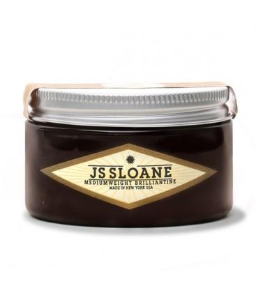 JS Sloane Medium Weight Brillantine 4oz - The Shaving Mayoreo