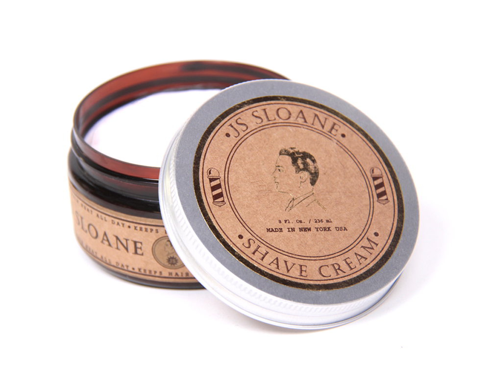 JS Sloane Gentlemen´s Shave Cream 8oz - The Shaving Mayoreo
