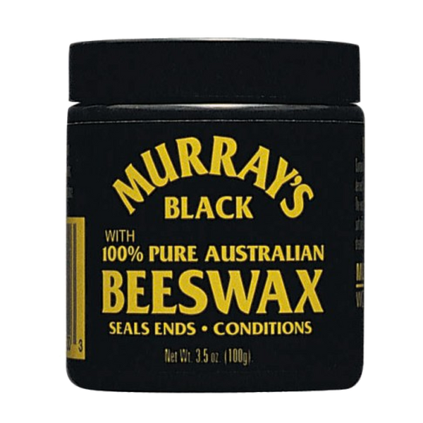 Murrays Black Beeswax Cera para Cabello 3.5oz - The Shaving Mayoreo