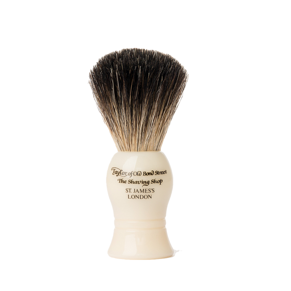 Taylor´s Brocha de Afeitar de Tejon Color Marfil - The Shaving Mayoreo
