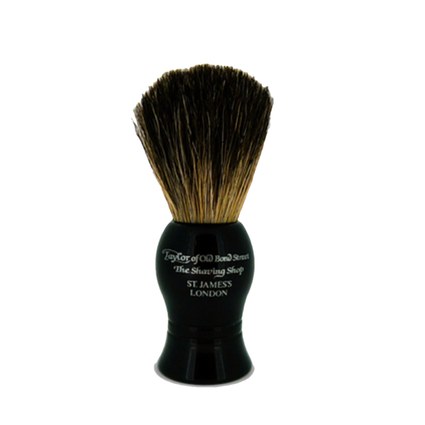 Taylor´s Brocha de Afeitar de Tejon Color Negra - The Shaving Mayoreo