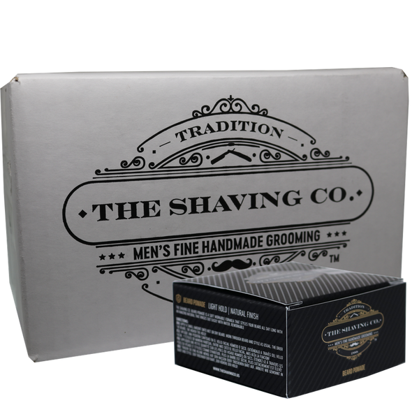 The Shaving Co. Pomada para Barba 2oz/60gr-CAJA 12+1 GRATIS - The Shaving Mayoreo