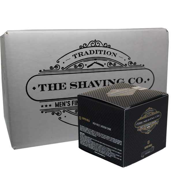 The Shaving Co. Pomada de Cabello Super Hold Noxidil-H2® 4oz/113.4gr-CAJA 12+1 GRATIS - The Shaving Mayoreo