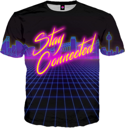 Stay Connected V1 All Over T-Shirt Short Sleeve
