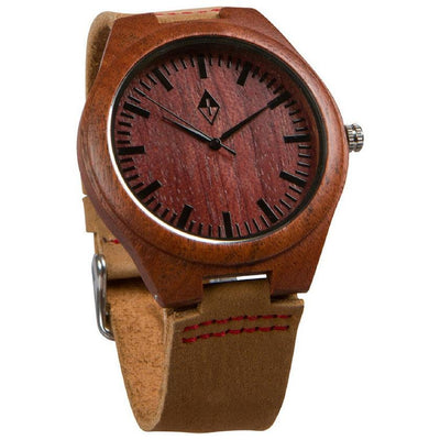 Original Red Sandalwood with Tan Leather