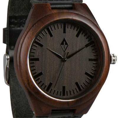 Original Black Sandalwood with Black Leather
