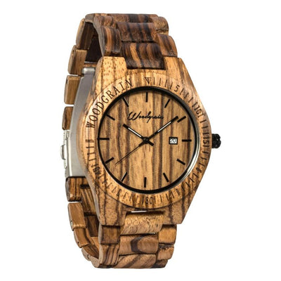 Original All Wood Earth Zebra