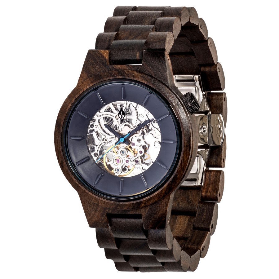 rosewood black watches by grain wood classic products original