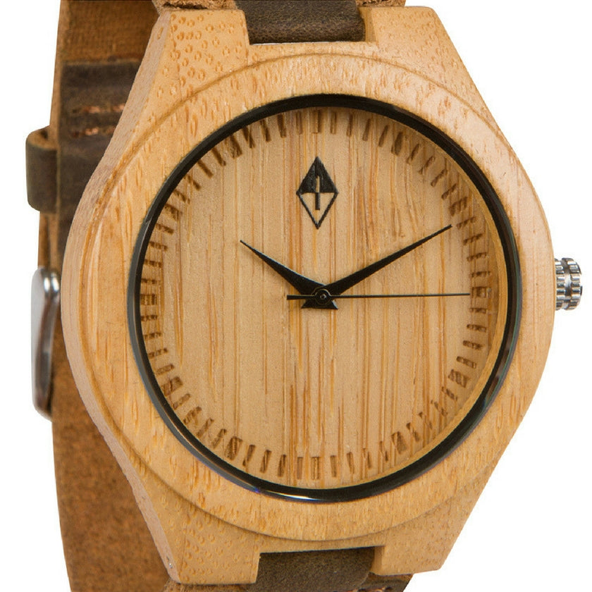 Original Bamboo with Dark Leather