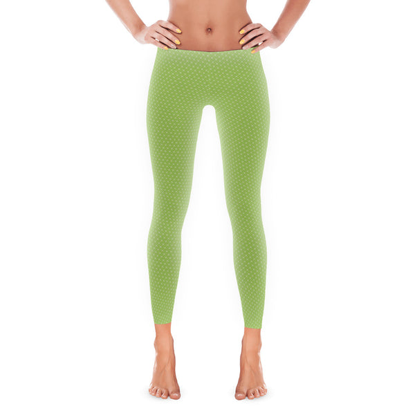 Green Diamond Leggings