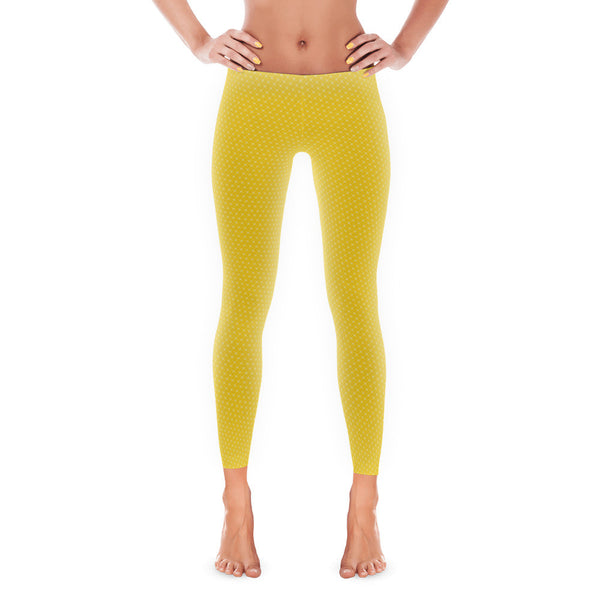Yellow Diamond Leggings