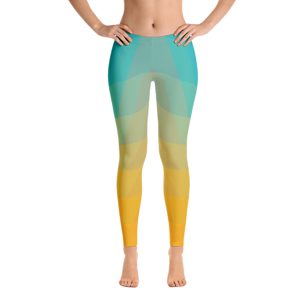 Sunrise Geometric Leggings
