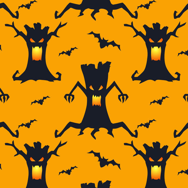 Spooky Trees Halloween Leggings