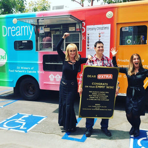 Cookie & Ice Cream Truck Catering - Dreamy Creations Cupcakes