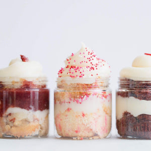 The Dream Sampler Cupcake Jars Set of 8 - Dreamy Creations Cupcakes